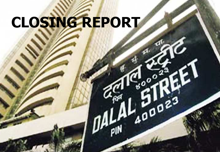Sensex ended 188.26 points lower at 40,966.86, while Nifty fell 63.20 points at 12,055.80