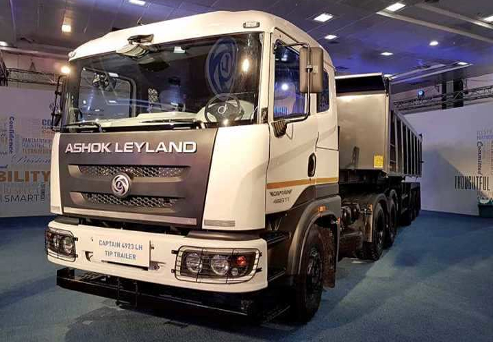 Ashok Leyland is the world's third largest bus manufacturer