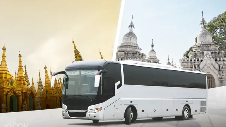You can travel by bus from India to Myanmar. Bus service from April