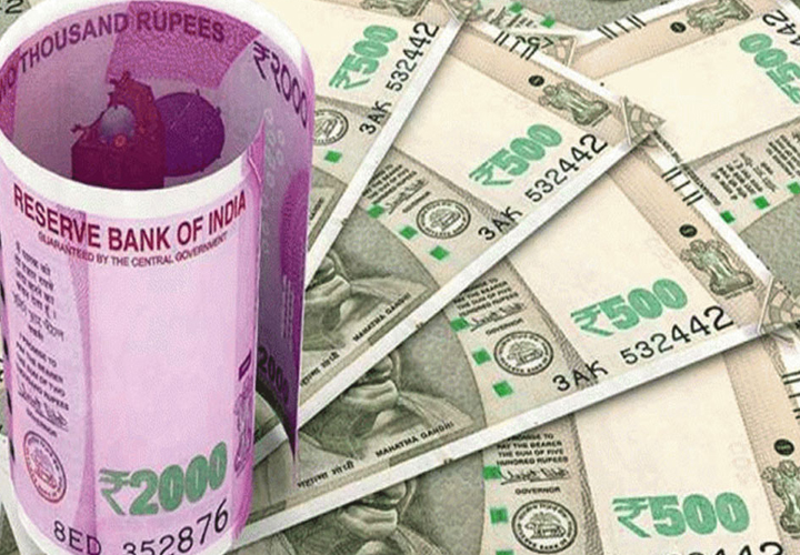 Rupee opens 2 paise up at 75.63 against dollar