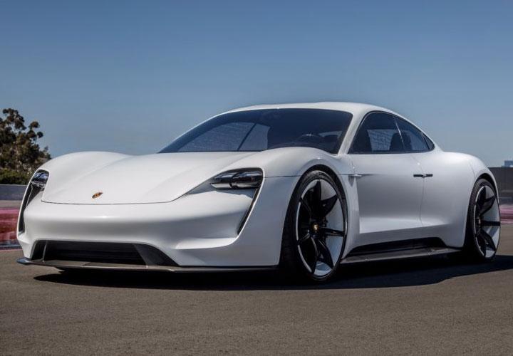 Porsche's first electric car