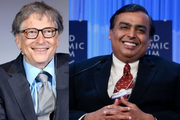 Frenchman ranks second in the list of world's richest people:  Bill Gates at 3rd