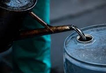 US crude oil price falls below $20