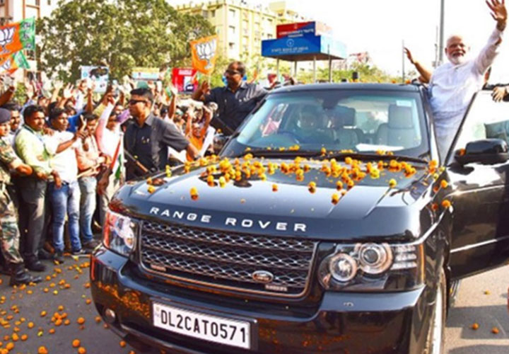 Here's a look back at cars used by Indian Prime Ministers