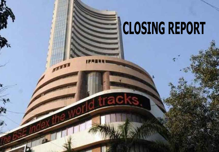 ndices end in the red after record rally; Nifty at 11,657, Sensex down 298 pts
