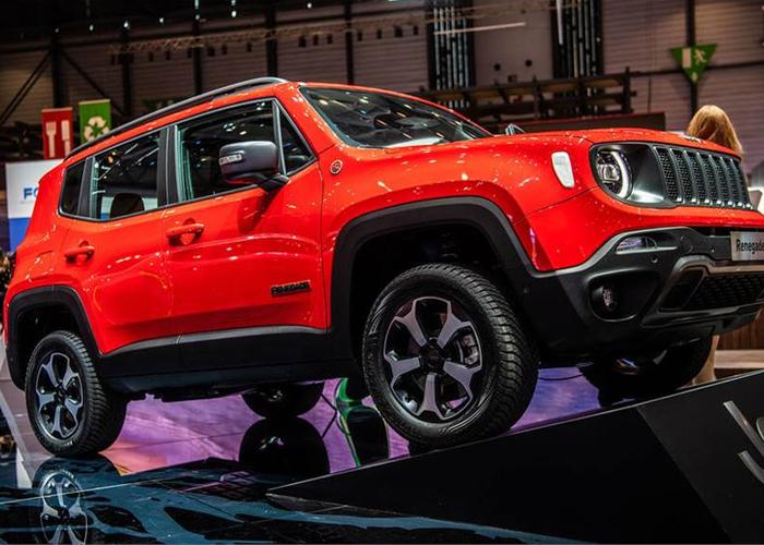 Jeep Renegade plug-in hybrid revealed