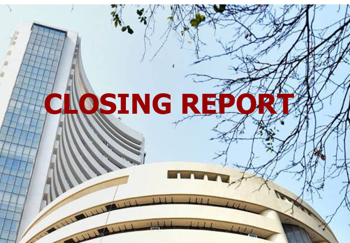 Sensex falls 289 points