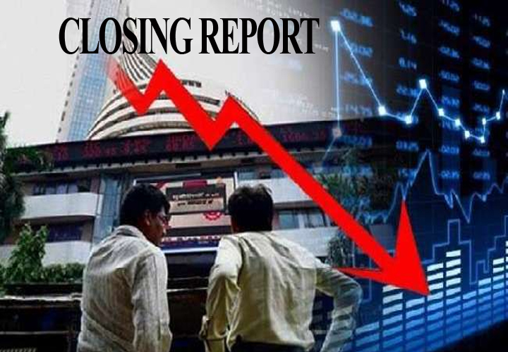 Sensex ended 433.56 points or 1.14 percent in the red at 37673.31