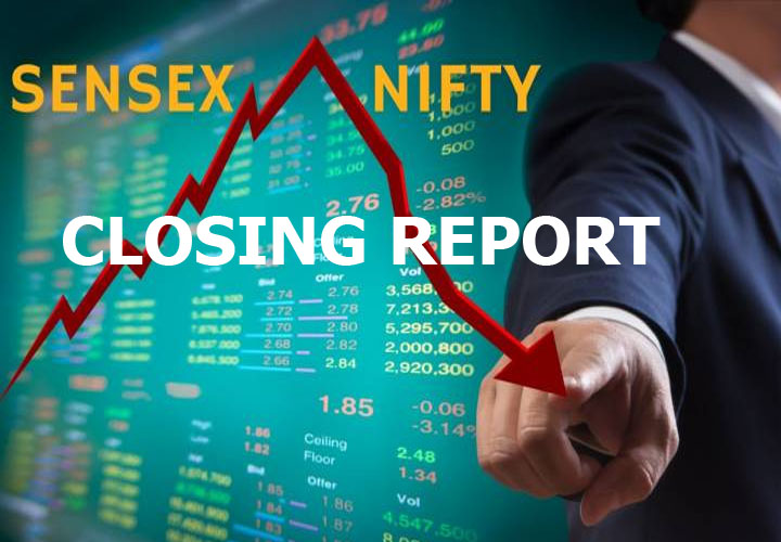 Late sell-off drags Sensex 318 pts