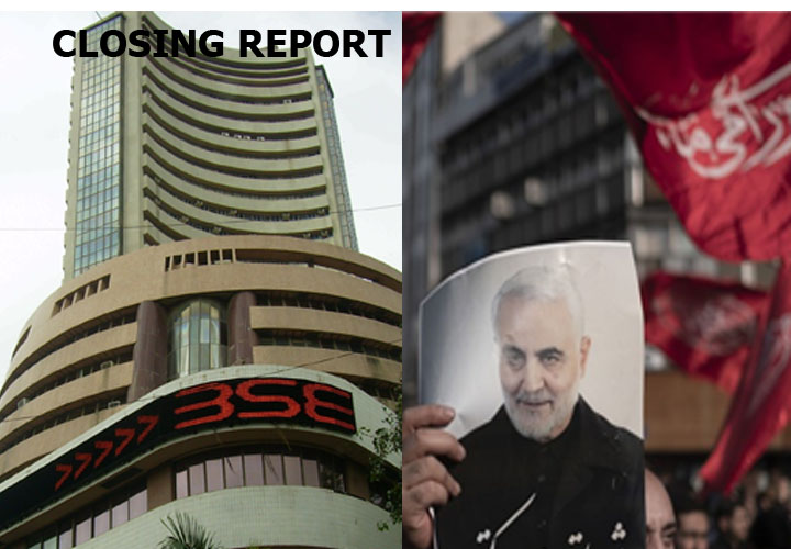 Closing Bell: Sensex plunges 788 points, Nifty finishes below 12,000; bank, financials, auto bleed