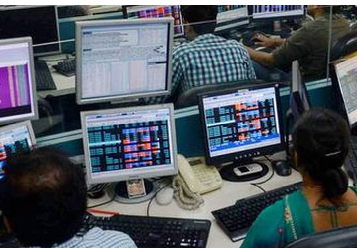 Nifty ends Oct series above 11,850, Sensex off record high; Yes Bank gains 23%