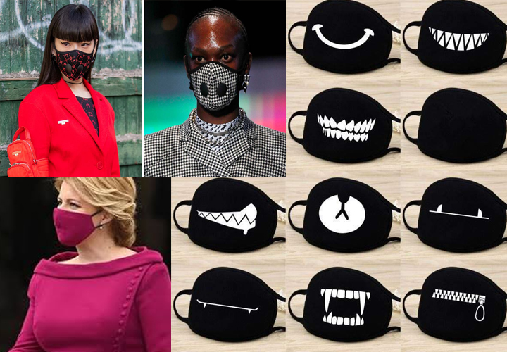 Masks to help fashion brands beat pandemic blues