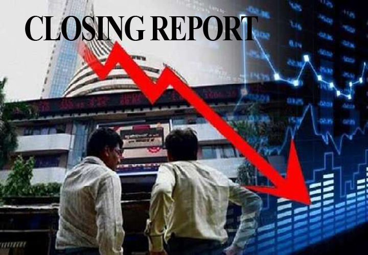 Sensex falls 297 pts, Nifty ends below 11,250; IndusInd Bank, YES Bank slip 5-6%