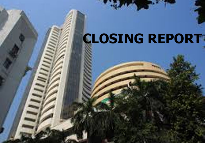 Sensex was down 51.73 points at 40817.74