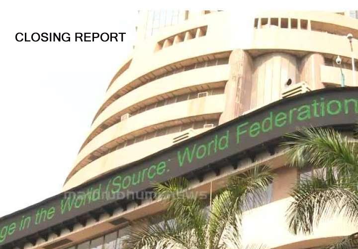 Sensex falls 260 pts, Nifty settles below 9,050