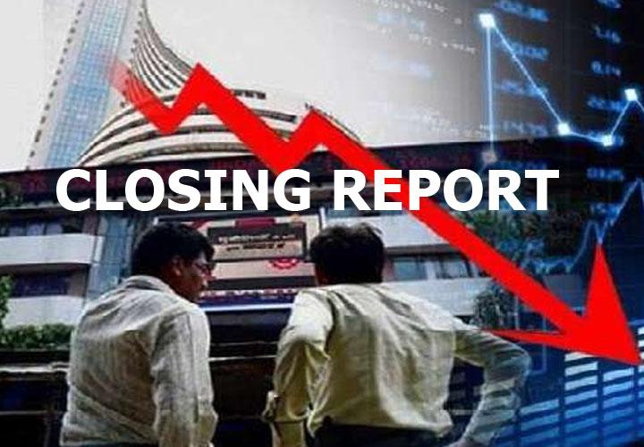 Sensex falls 250 pts