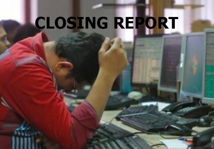 Sensex was down 769.88 points